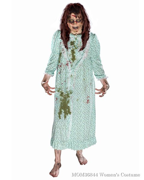 Exorcist Regan Womens Costume w/ Wig