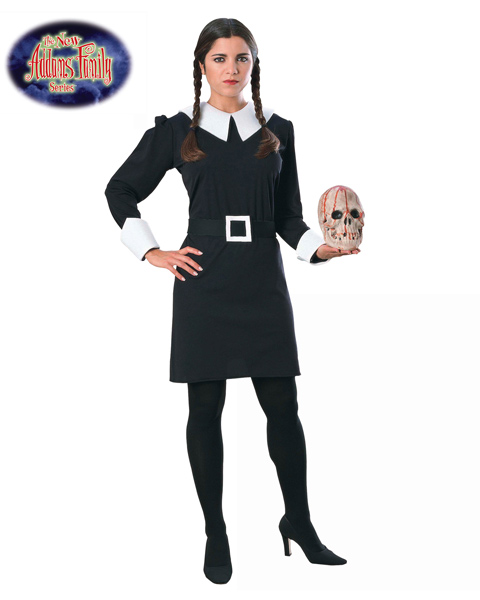 Adult Sized The Addams Family (tm) Wednesday Costume