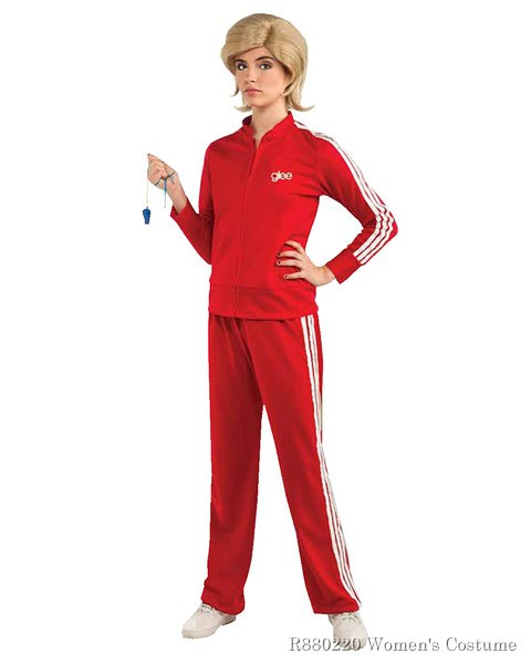 Adult Glee Sue Track Suit Costume