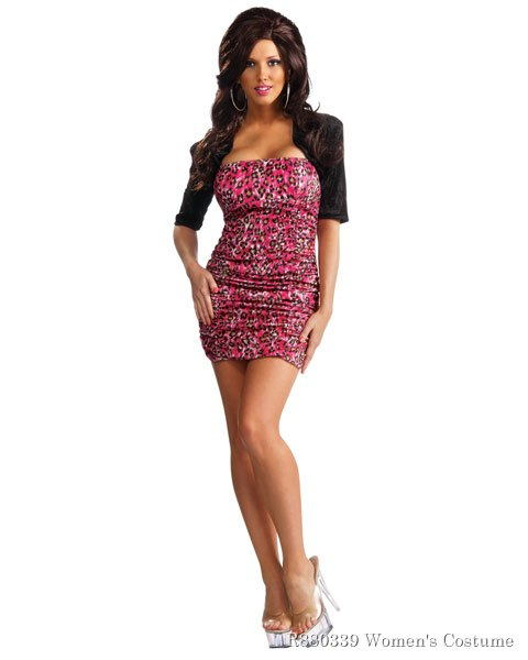 Womens Jersey Shore Snooki Sexy Costume