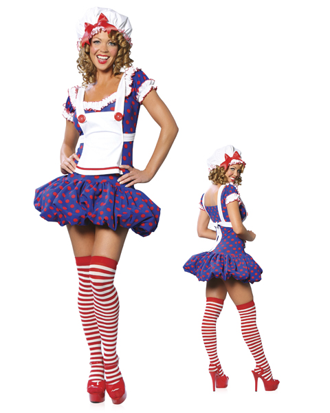 Rag Doll Costume for Women