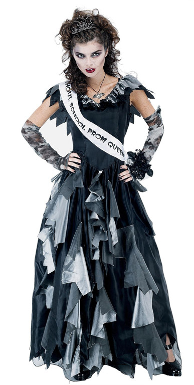 Zombie Prom Queen Womens Small Adult Costume