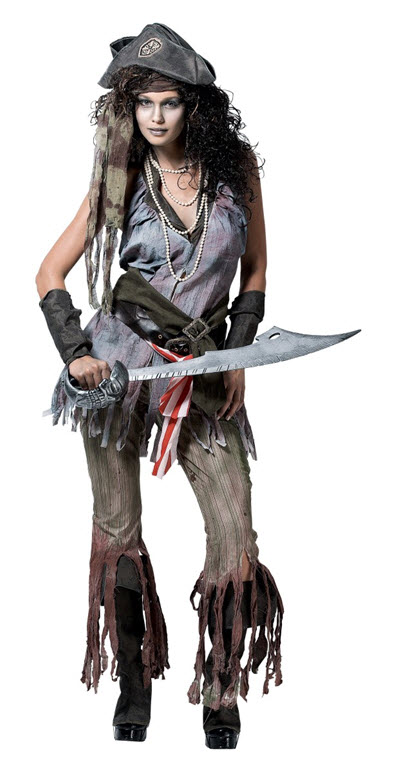 Ship Wreck Sally Adult Costume Medium